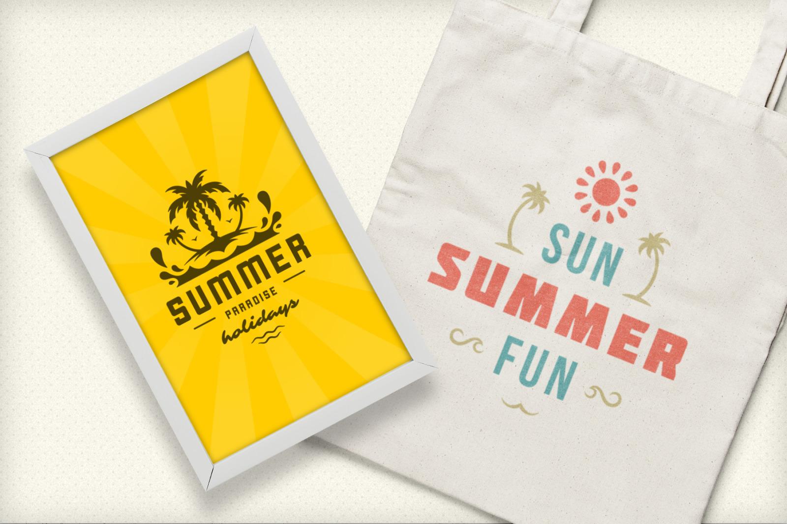 Summer Holidays Emblems & Badges