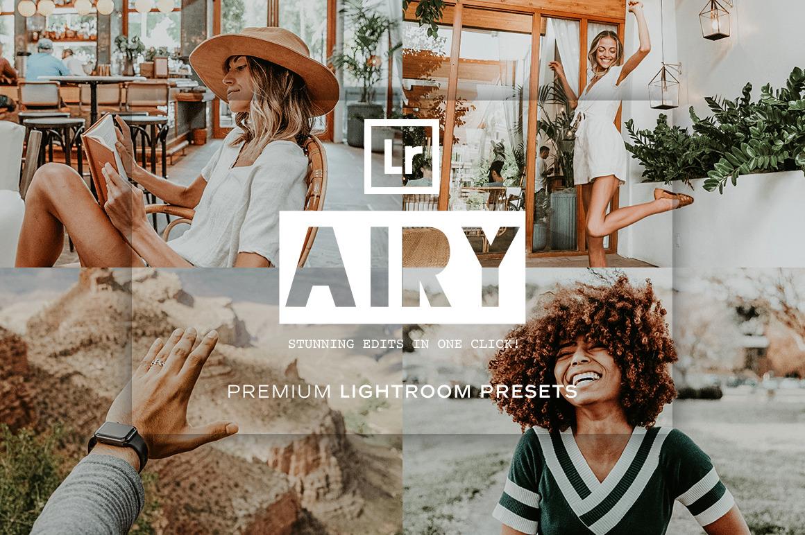 Airy Lightroom Presets