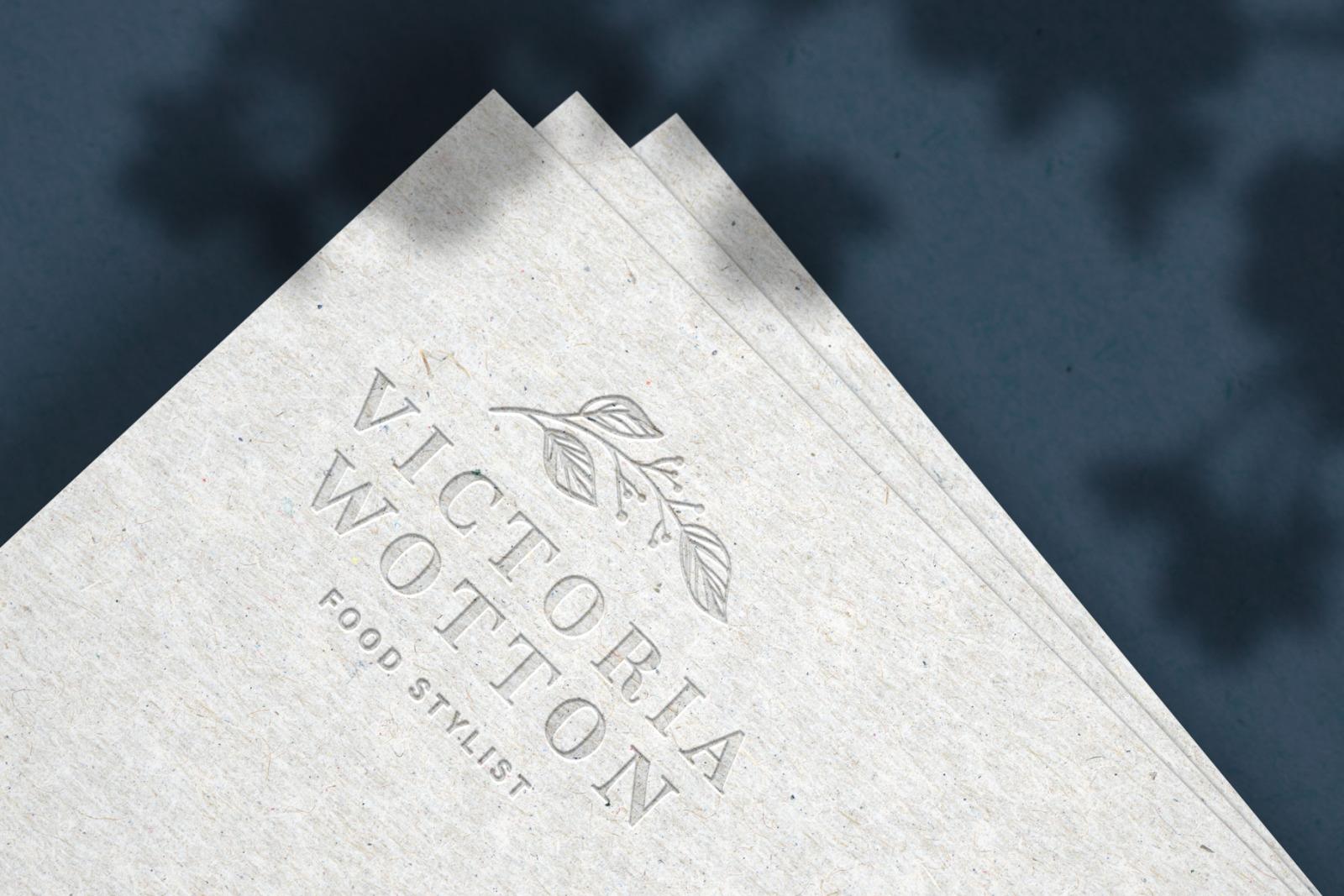 Modern Luxury Logo Mockup Set 1