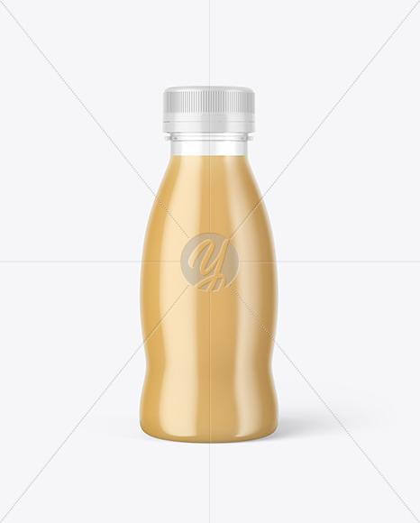 Plastic Bottle w/ Cold Brew Coffee Mockup in Bottle ...