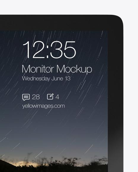 Apple iMac Pro Mockup