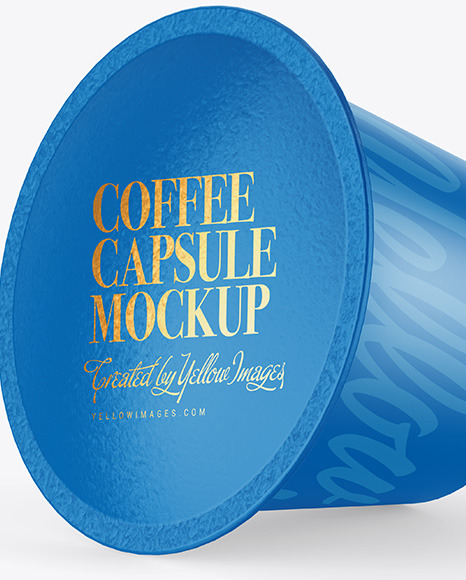 Matte Coffee Capsule Mockup