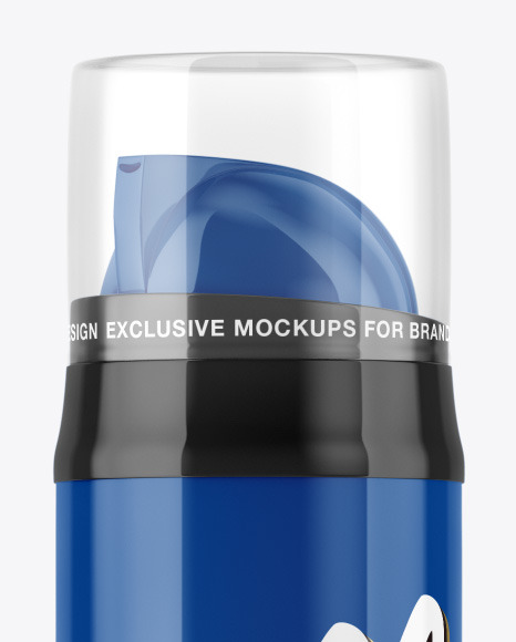 Download Download Glossy Foam Bottle Mockup Collection Of Exclusive Psd Mockups Free For Personal And Commercial Usage PSD Mockup Templates