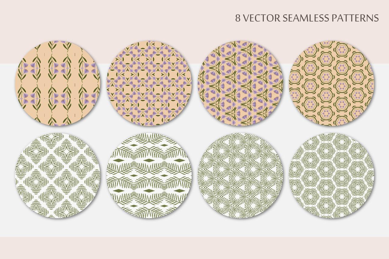 Pastel Seamless Patterns