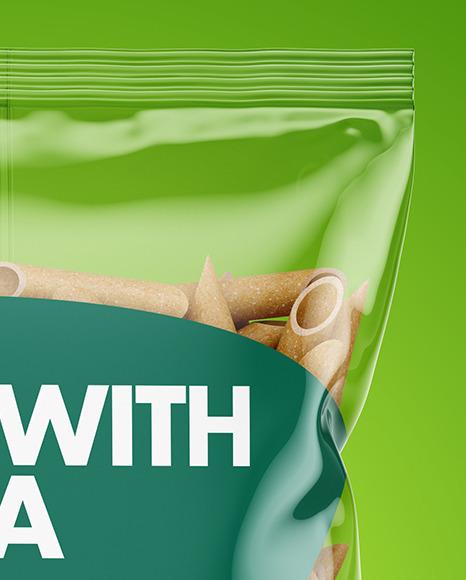 Whole Wheat Penne Pasta Bag Mockup