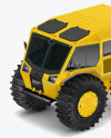 Amphibious ATV Mockup - Half Side View