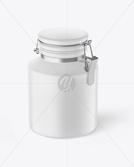 Download Matte Metallic Plastic Jar Mockup PSD - Free PSD Mockup Templates