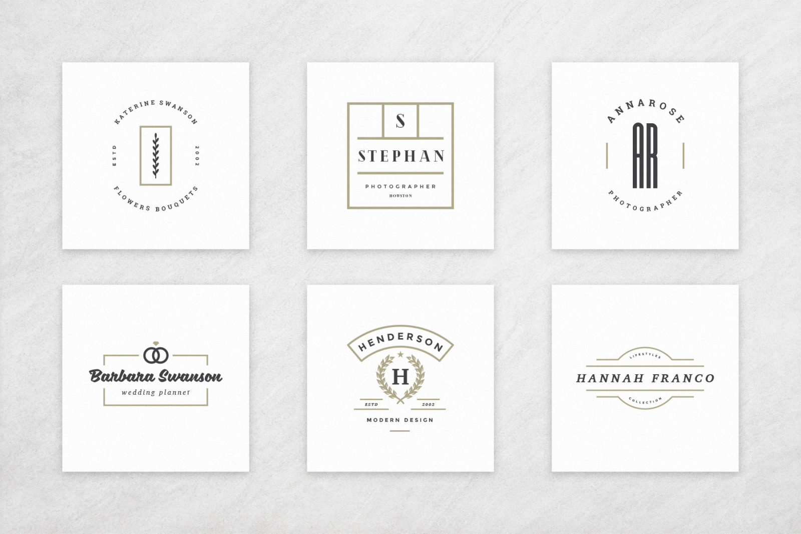 Elegant Logos Bundle