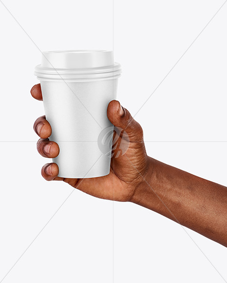 Download Hand Holding a Coffee Cup Mockup Free Mockups