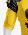 American Football Kit Mockup with Mannequin - Front View