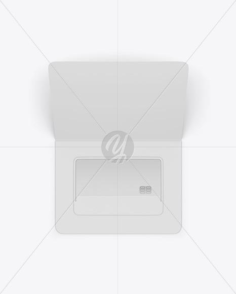 Credit Card Envelope Front Mockup