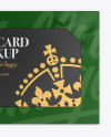Paper Gift Card Mockup
