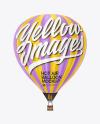 Air Balloon Mockup