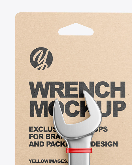 Wrench Mockup - Front View