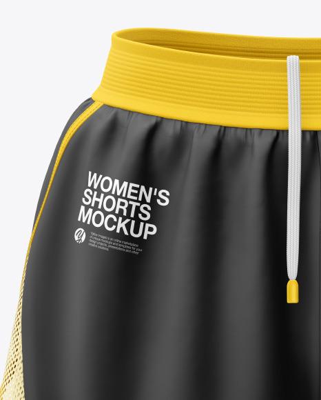 Women's 2 in 1 Shorts Mockup