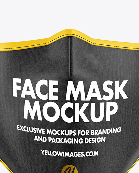 Download Fabric Mask Face Mask Mockup Free Yellowimages