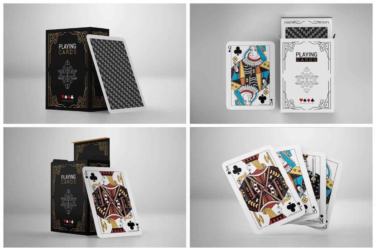 Playing Card Mockup