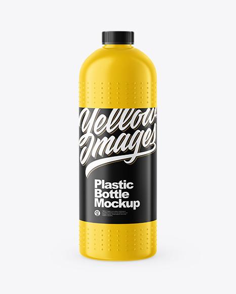 Plastic Drain Cleaner Bottle Mockup