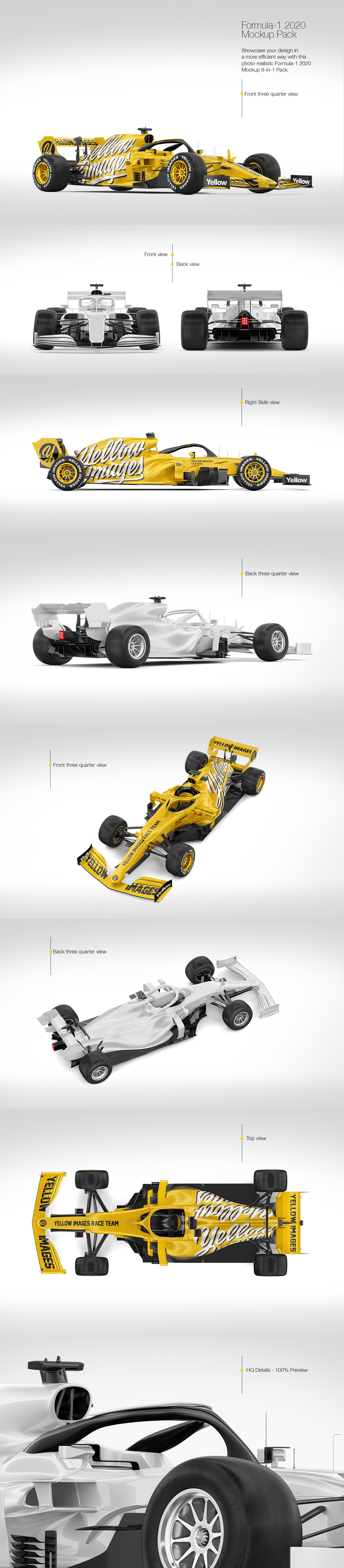 Download F1 Car Mockup Free Download Free And Premium Psd Mockup Templates And Design Assets Yellowimages Mockups
