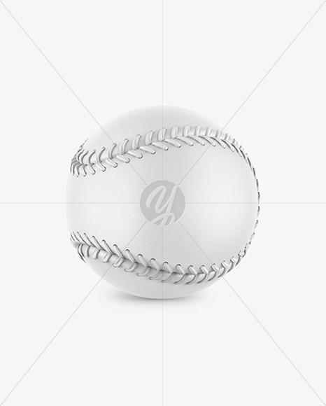 Baseball Ball Mockup