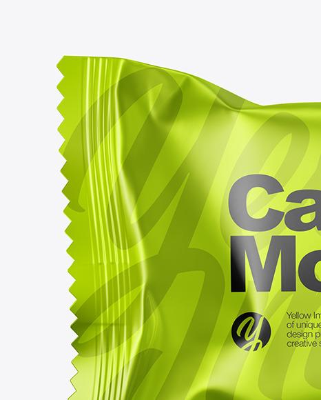 Metallic Candy Pack Mockup