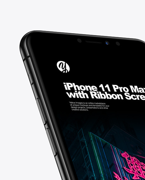 iPhone Pro Max with Ribbon Screen
