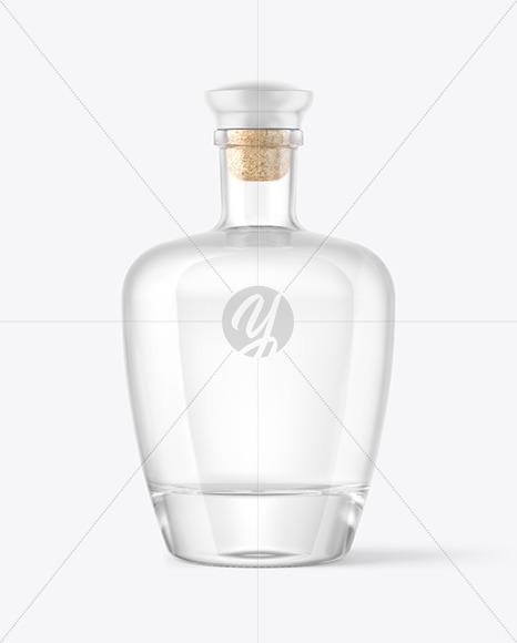Download Clear Glass Bottle Black Liquid Mockup PSD - Free PSD Mockup Templates