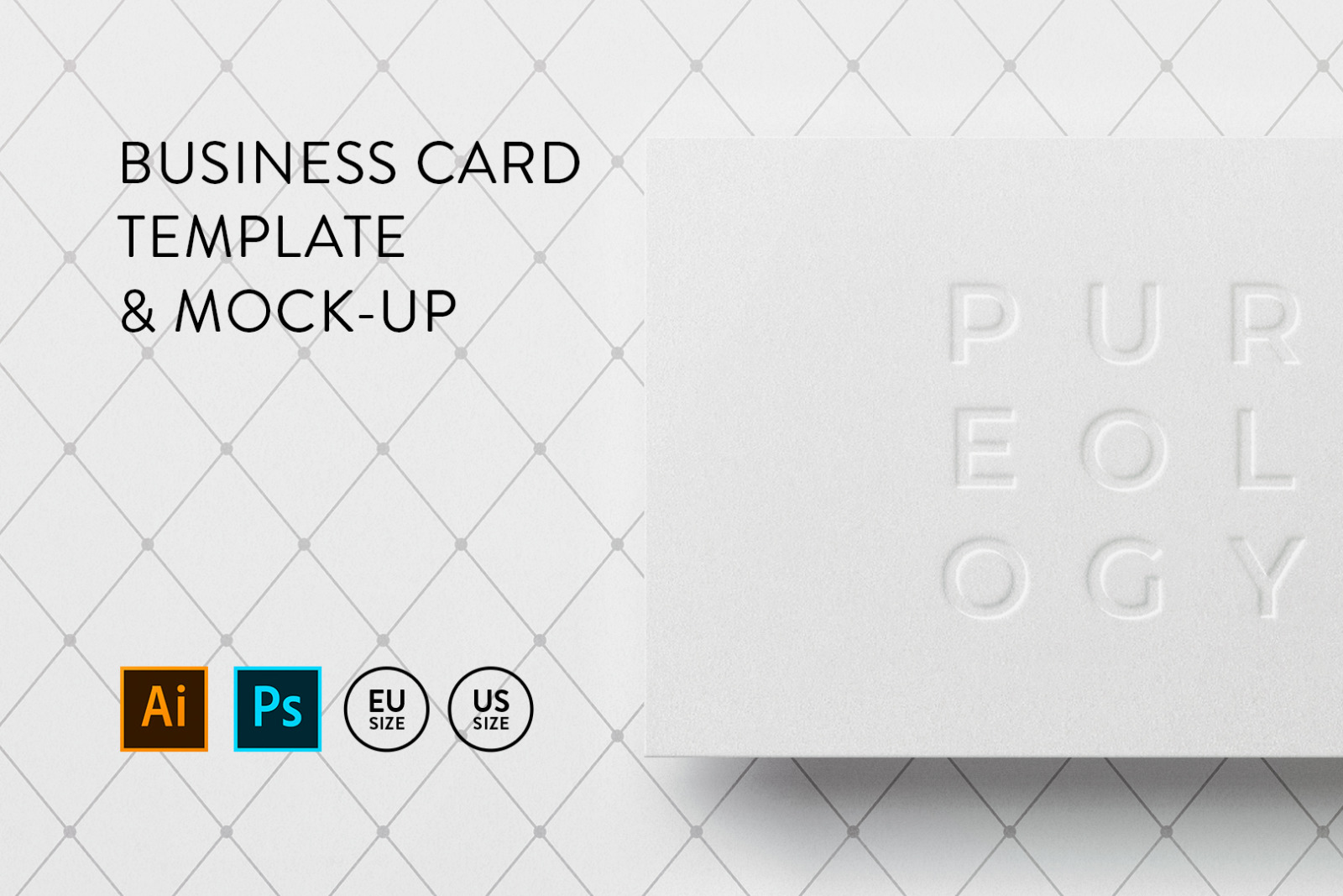 Download Business Card Template Mock Up 4 In Business Card Templates On Yellow Images Creative Store PSD Mockup Templates