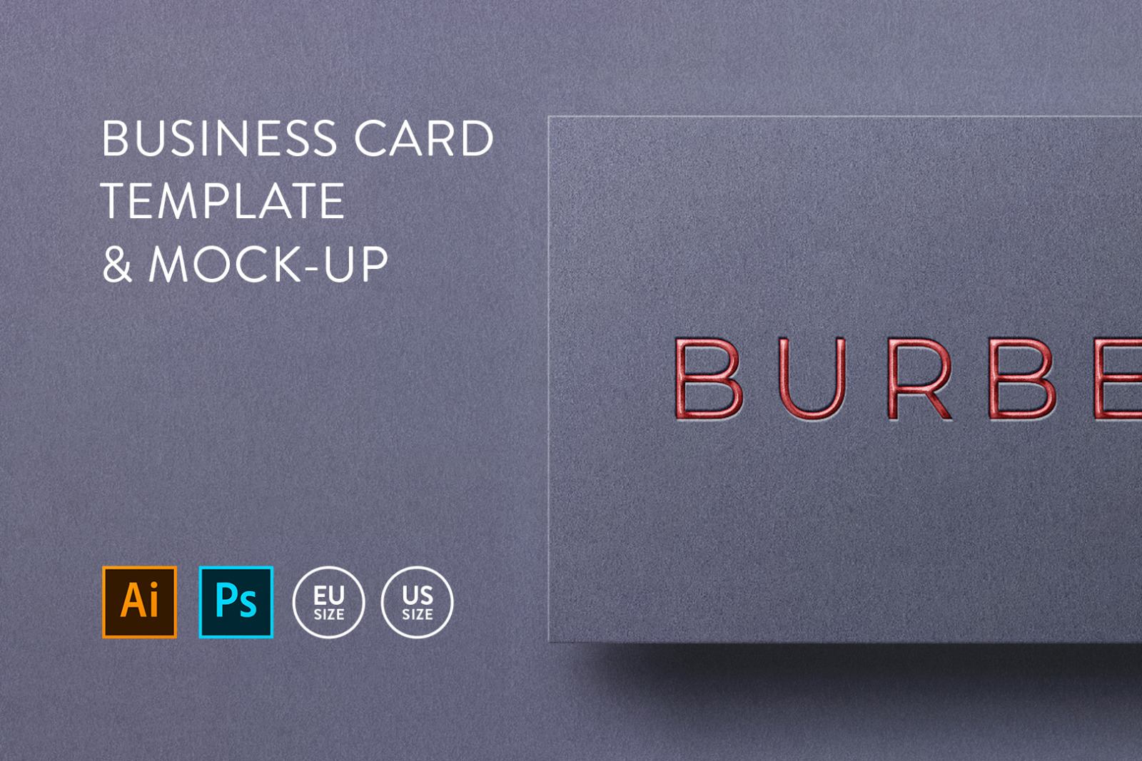 Business card Template & Mock-up #5