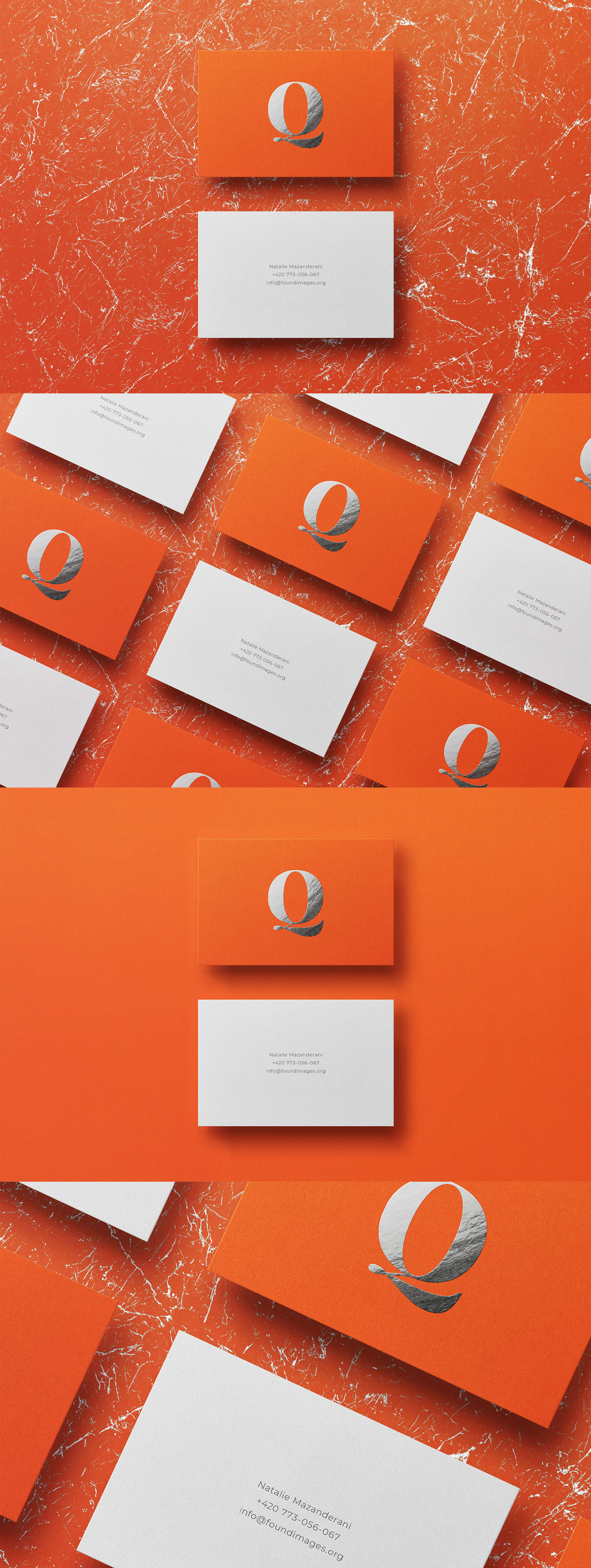 Business card Template & Mock-up #11