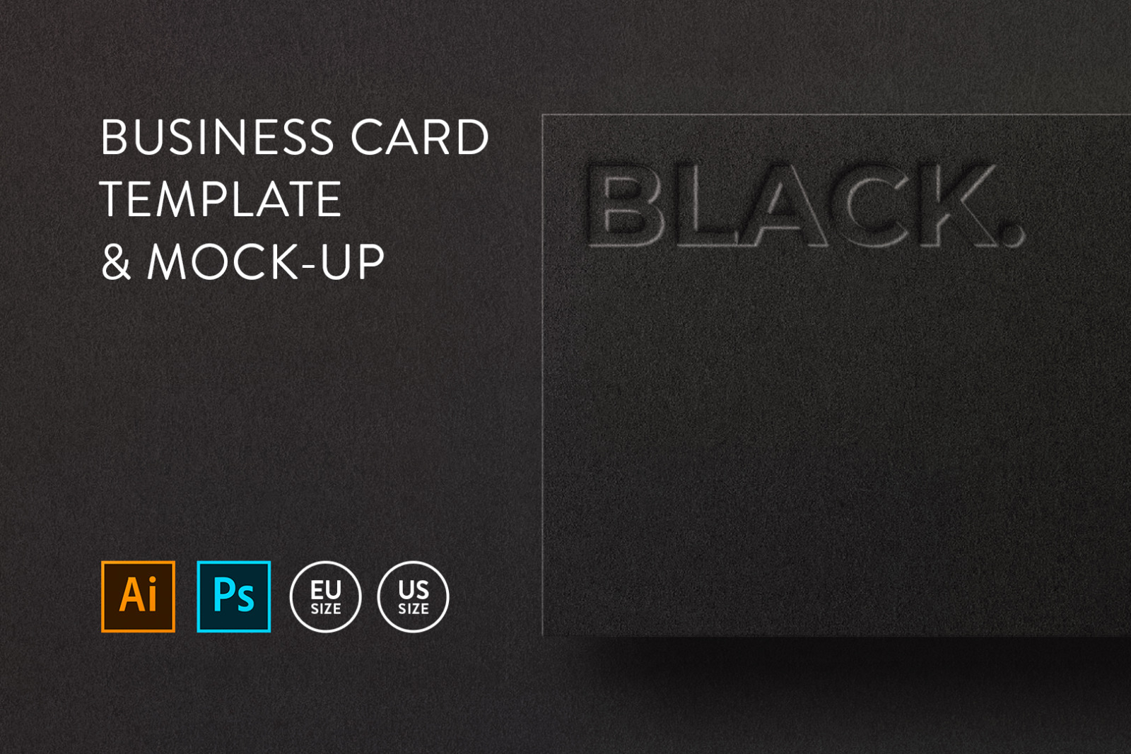 Business card Template & Mock-up #19