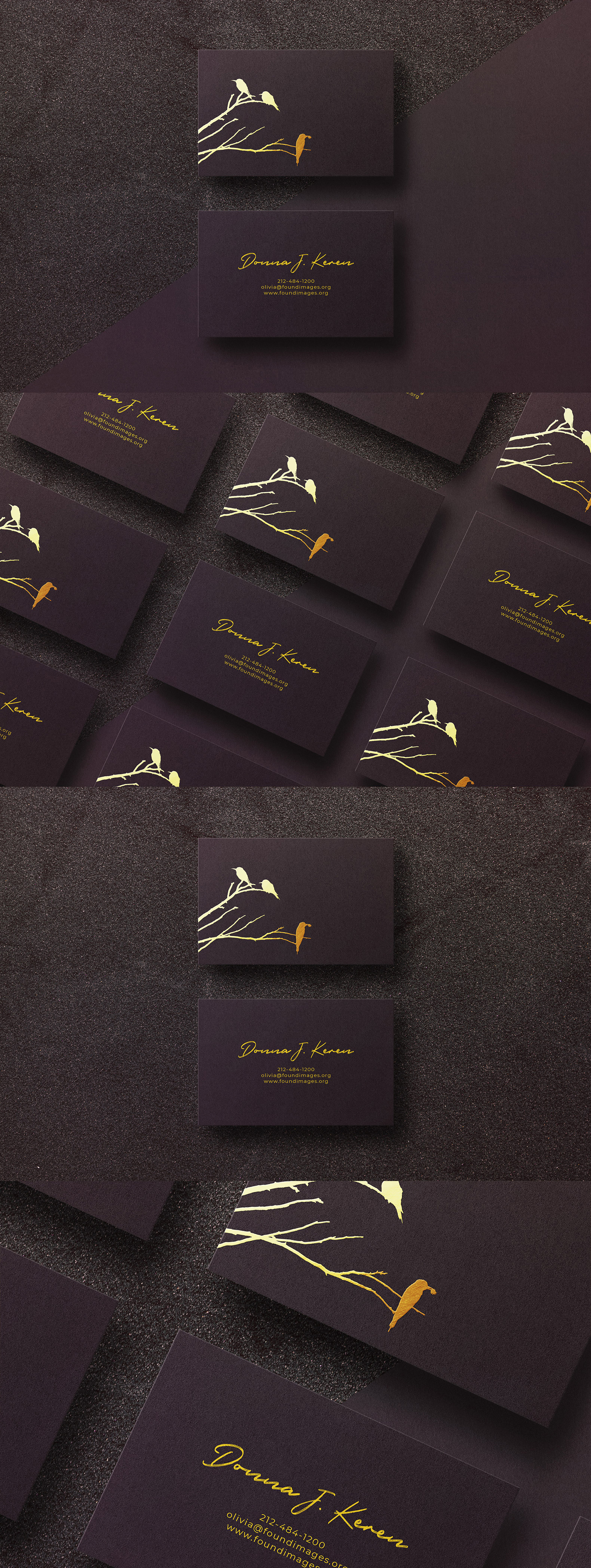 Business card Template & Mock-up #25