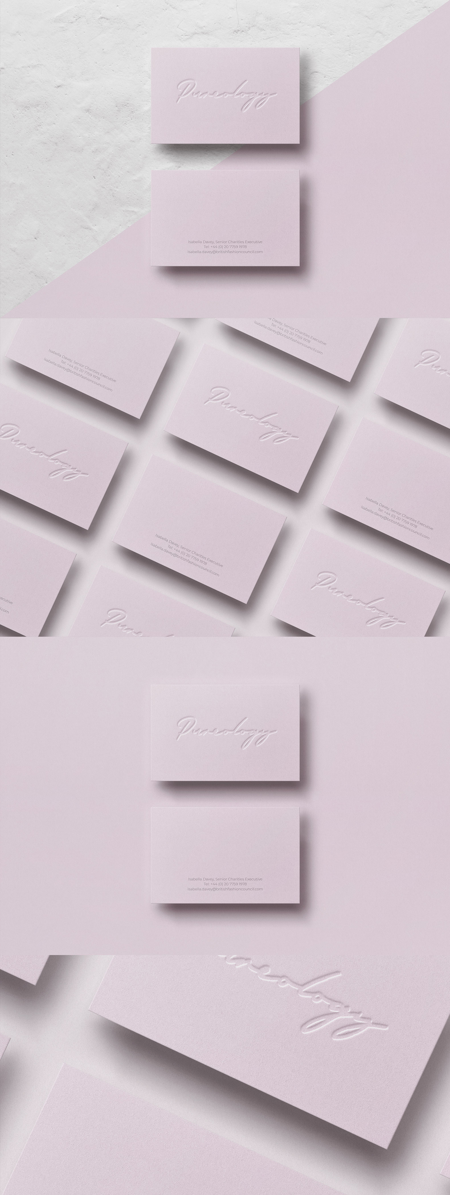 Business card Template & Mock-up #27