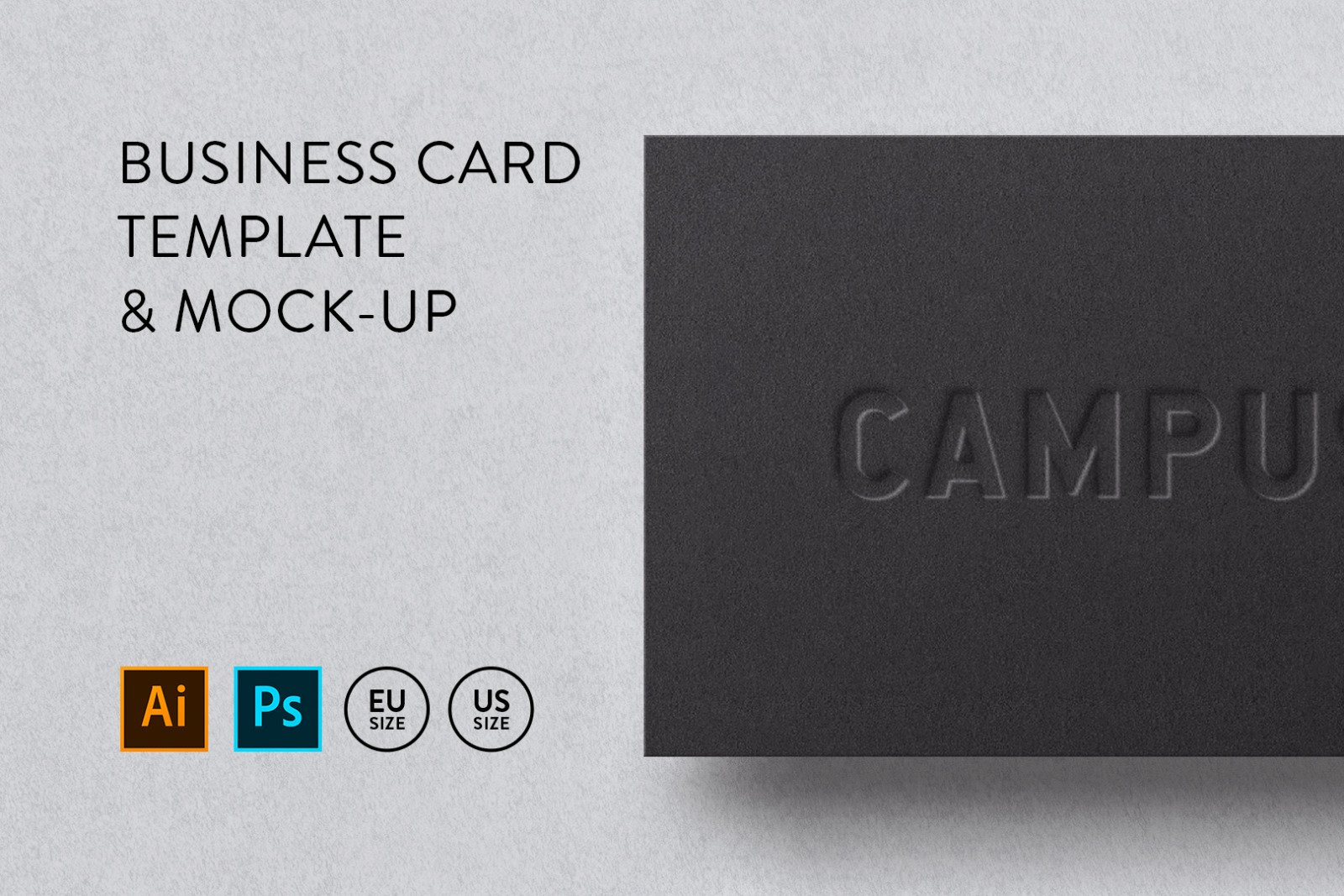 Business card Template & Mock-up #44