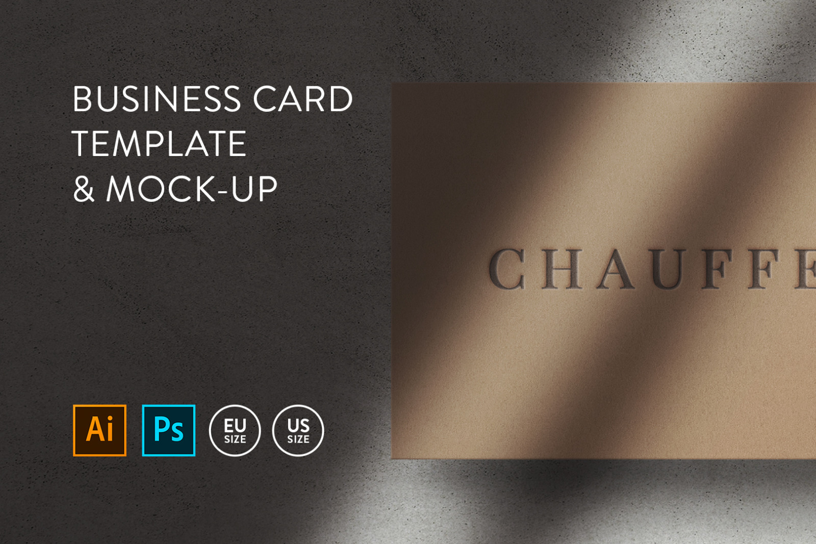 Business card Template & Mock-up #47