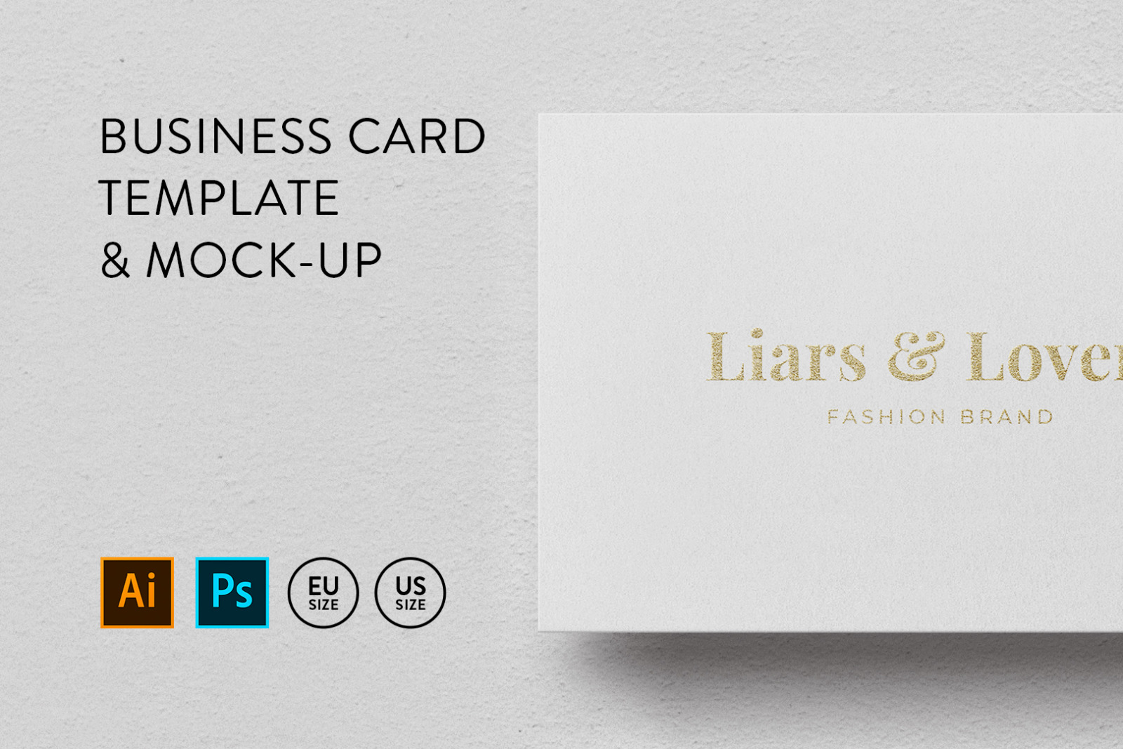 Business card Template & Mock-up #39