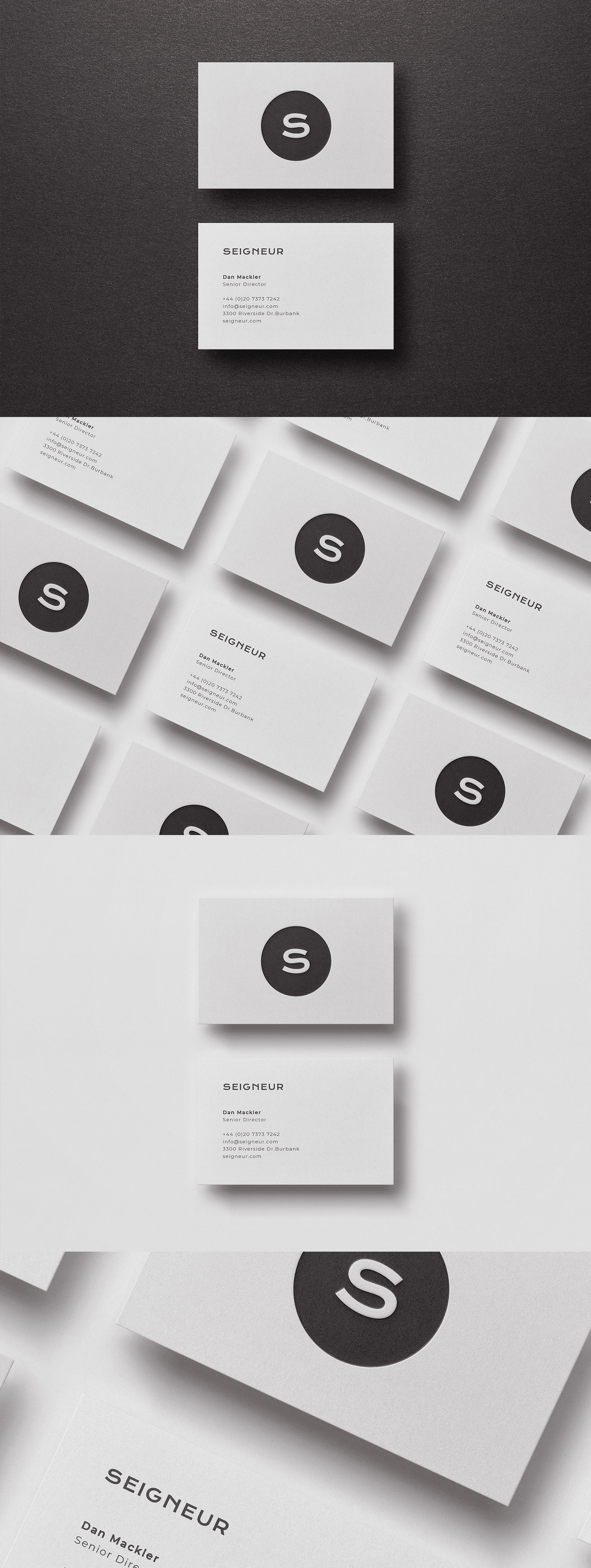 Business card Template & Mock-up #49