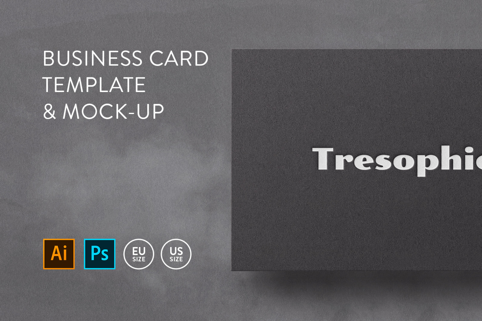 Business card Template & Mock-up #36