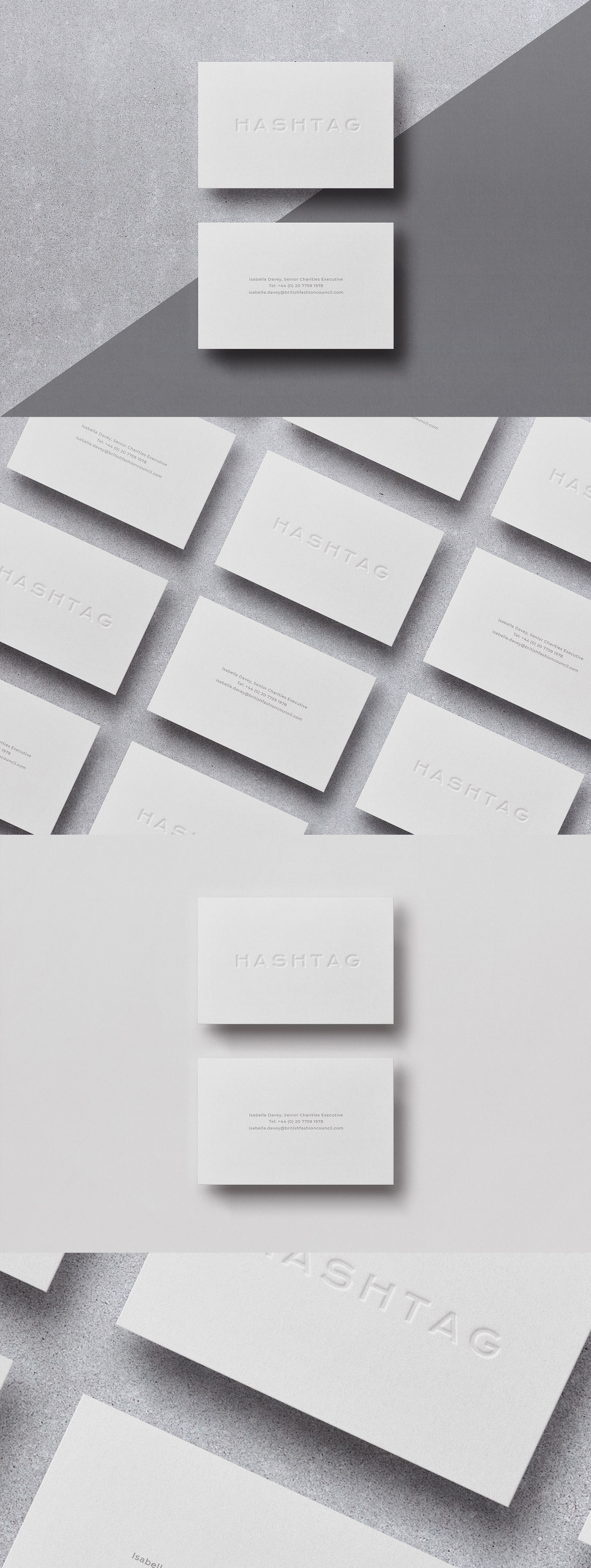 Business card Template & Mock-up #35