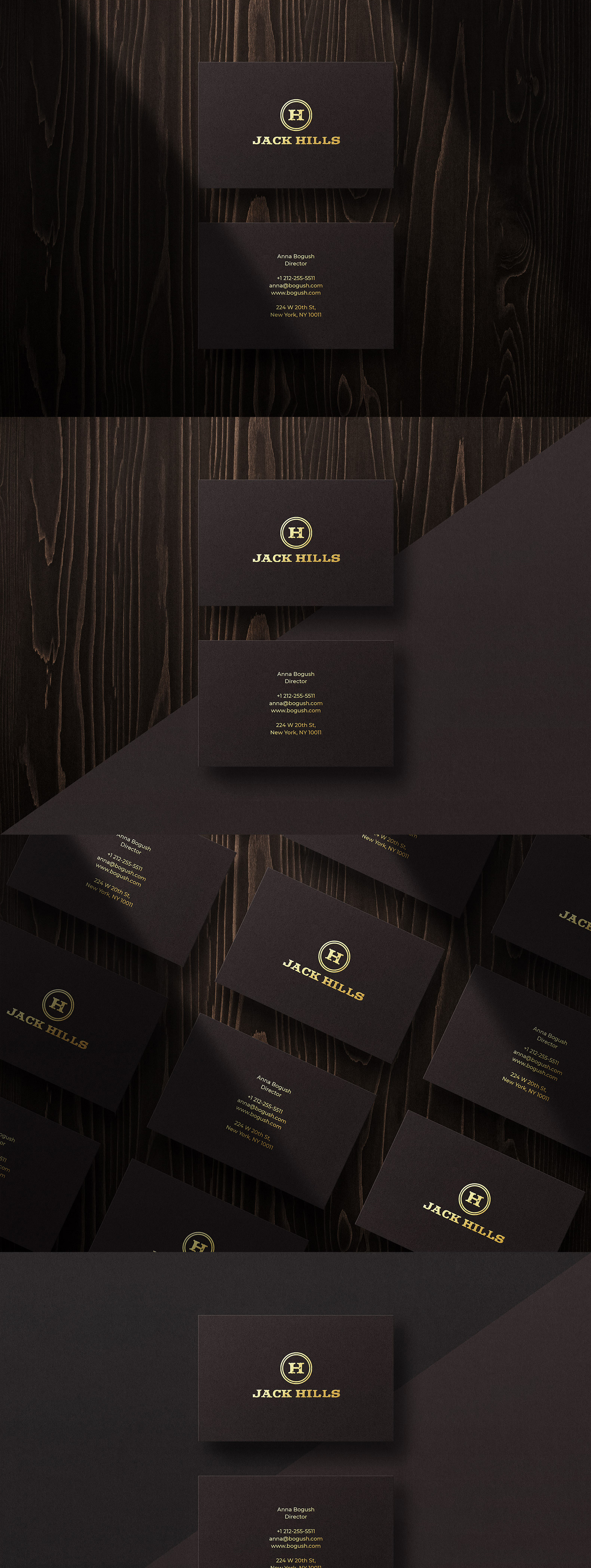 Business card Template & Mock-up #31