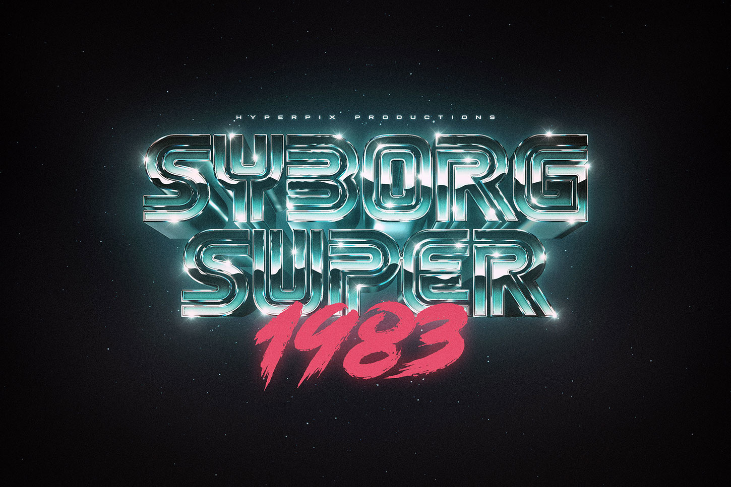 80s Text and Logo Effects Vol.3