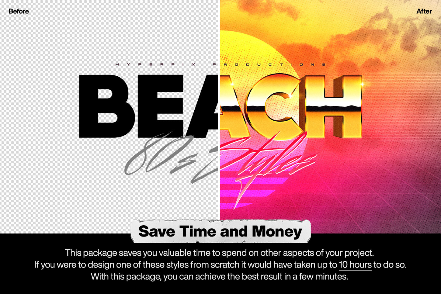 80s Text and Logo Effects Vol.1