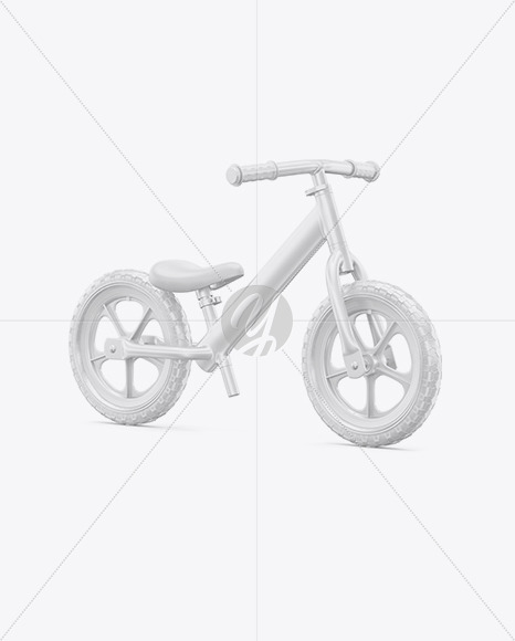 Balance Bike Mockup - Half Side View - Yellowimages Mockups