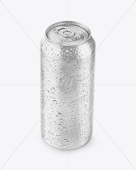 Can with Condensation Mockup