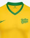 Soccer T-shirt Mockup - Front View