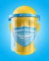 Face Mask & Face Shield Mockup