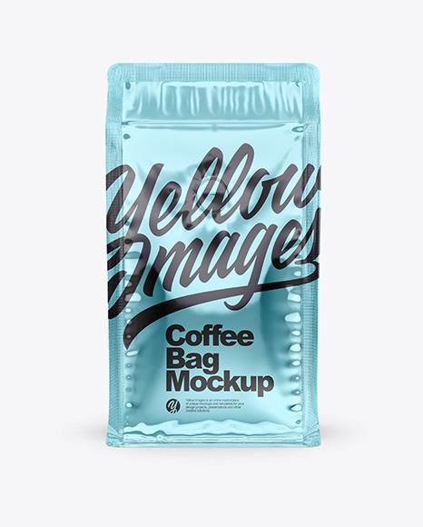 Metallic Coffee Bag With Valve