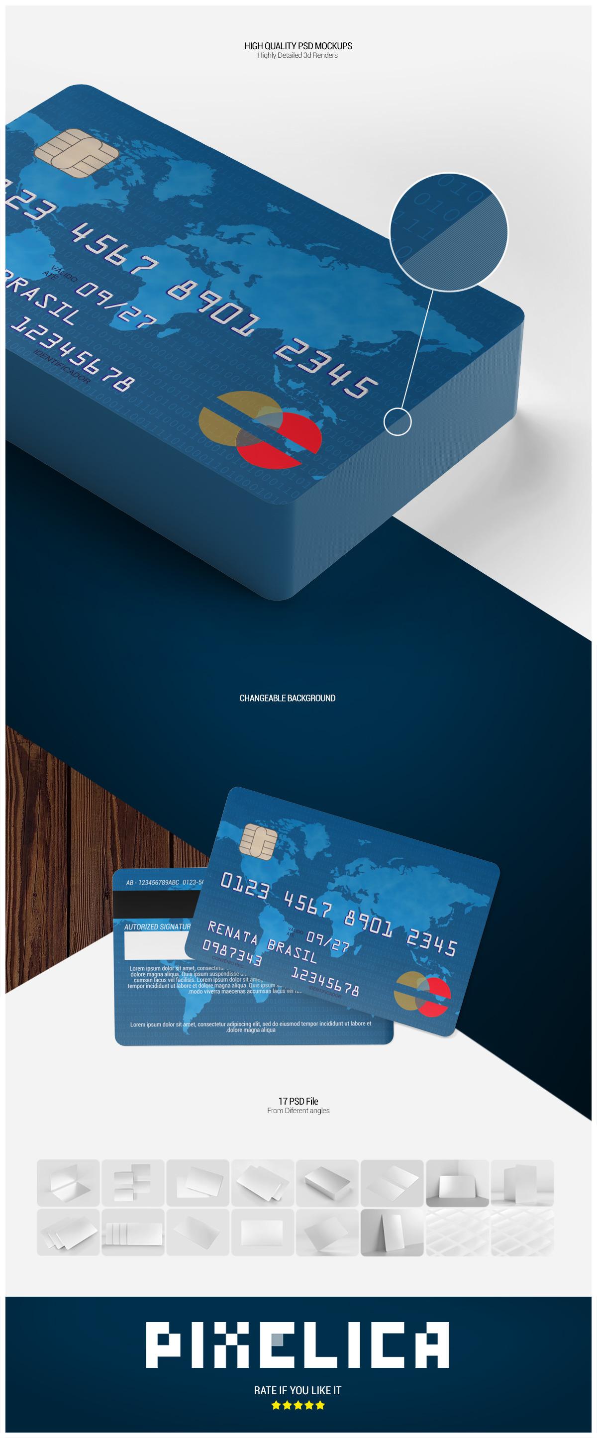 Credit / Debit Card Mockup