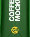 Matte Coffee Bag Mockup - Side View