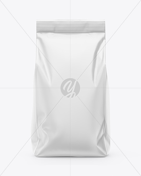 Matte Food Bag Mockup